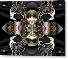 Uncertain Committments Acrylic Print by Claude McCoy