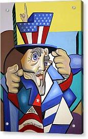 Uncle Sam 2001 Acrylic Print by Anthony Falbo