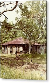 Uncle Toms Cabin Brookhaven Mississippi Acrylic Print by Michael Hoard