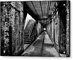 Under Alcatraz Acrylic Print by Benjamin Yeager