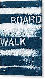 Under The Boardwalk Acrylic Print by Linda Woods