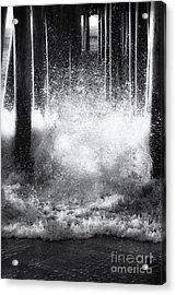 Under The Boardwalk Acrylic Print by Sue OConnor