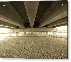 Under The Bridge Acrylic Print by Joanne Askew