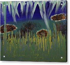 Under The Sea Acrylic Print by Donna Guzman