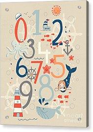Under The Sea Acrylic Print by Kathrin Legg