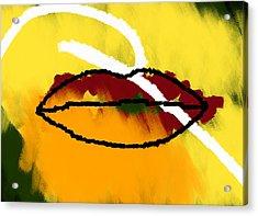 Under Your Breath Acrylic Print by Condor