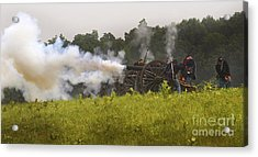Union Artillery Line Acrylic Print by Paul W Faust -  Impressions of Light