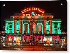Union Station  Acrylic Print by Darren  White