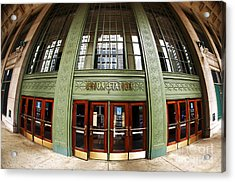 Union Station Exterior Acrylic Print by John Rizzuto