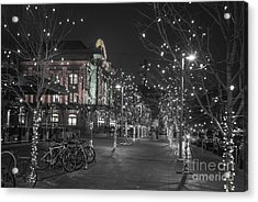 Union Station In The Winter Acrylic Print by Juli Scalzi