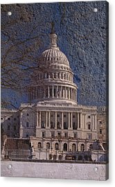 United States Capitol Acrylic Print by Skip Willits