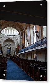 United States Naval Academy In Annapolis Md - 121261 Acrylic Print by DC Photographer