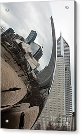 Unititled Chicago Acrylic Print by Joe Fantauzzi