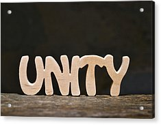 Unity Acrylic Print by Donald  Erickson