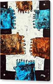 Universi No. 3 Acrylic Print by Mark M  Mellon