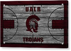 University Of Arkansas At Little Rock Trojans Acrylic Print by Joe Hamilton