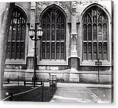 University Of Chicago 1970s Acrylic Print by Joseph Duba