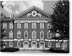 University Of Delaware Wolf Hall Acrylic Print by University Icons