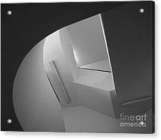 University Of Minnesota Stairwell Acrylic Print by University Icons