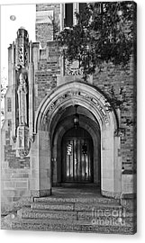 University Of Notre Dame Acrylic Print by University Icons