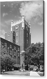 University Of Oklahoma Union Acrylic Print by University Icons