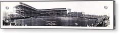 University Of Pittsburgh Vs W And J College Forbes Field Pittsburgh Pa 1915 Acrylic Print by Bill Cannon