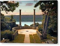 Untermyer Vista Acrylic Print by Jessica Jenney
