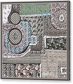 Untitled 439 Acrylic Print by Nedunseralathan R