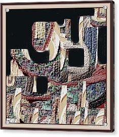 Untitled 452 Acrylic Print by Nedunseralathan R