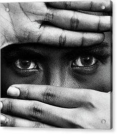Untitled Acrylic Print by Ajie Alrasyid