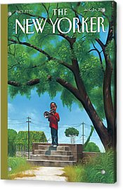 Untitled Acrylic Print by Kadir Nelson