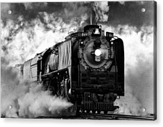 Up 844 Steaming It Up Acrylic Print by Bill Kesler