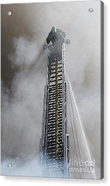 Up In Smoke Acrylic Print by Dan Holm