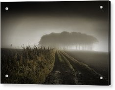 Up On T Moor... Acrylic Print by Russell Styles