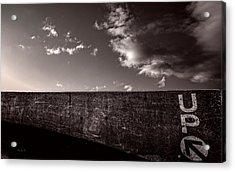 Up One Acrylic Print by Bob Orsillo
