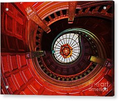 Up The Down Staircase Acrylic Print by Marcus Dagan