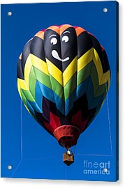 Up Up And Away In My Beautiful Balloon Acrylic Print by Edward Fielding