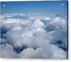 Up Up In The Sky Acrylic Print by Valerie Garner