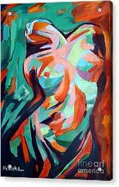 Uplift Acrylic Print by Helena Wierzbicki
