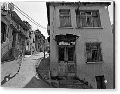 Urban Decay And Children Acrylic Print by Ilker Goksen