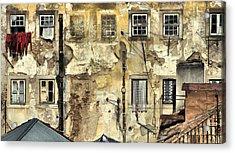 Urban Lisbon Acrylic Print by David Letts