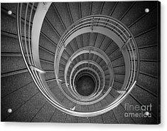 urban spiral - gray II Acrylic Print by Hannes Cmarits