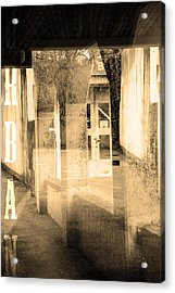 Urban Acrylic Print by Toppart Sweden
