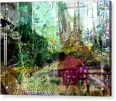 Urbanscetch Acrylic Print by Immo Jalass