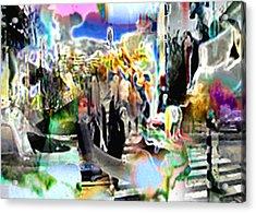 Urbansmeet Acrylic Print by Immo Jalass