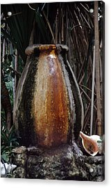 Urn Of Time Acrylic Print by Bob Whitt
