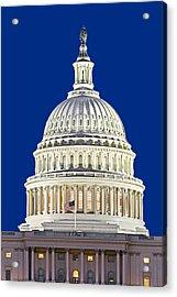 Us Capitol Dome Acrylic Print by Susan Candelario