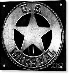 Us Marshal Acrylic Print by John Rizzuto