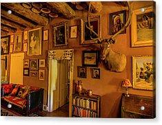Usa, Arizona, Hubbell Trading Post Acrylic Print by Jerry Ginsberg