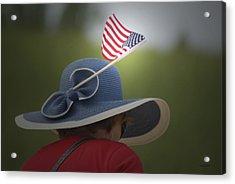 Usa Flags 04 Acrylic Print by Thomas Woolworth